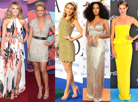 Best Looks of the Week: Carrie Underwood, Miranda Lambert, Blake Lively, Solange Knowles, Shailene Woodley