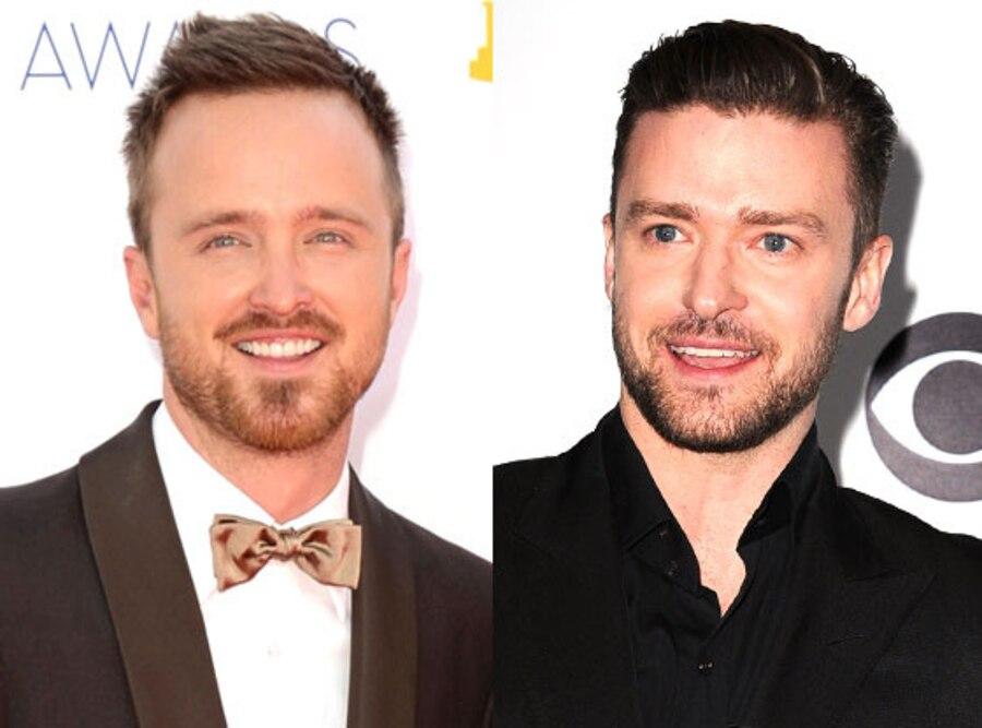 Justin Timberlake, Aaron Paul