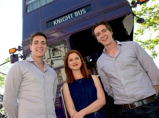 James Phelps, Bonnie Wright, Oliver Phelps