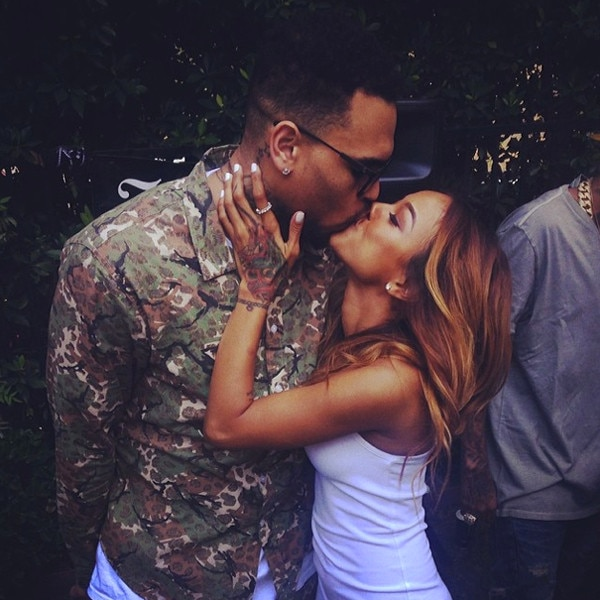 Chris Brown, Karrueche Tran, Instagram