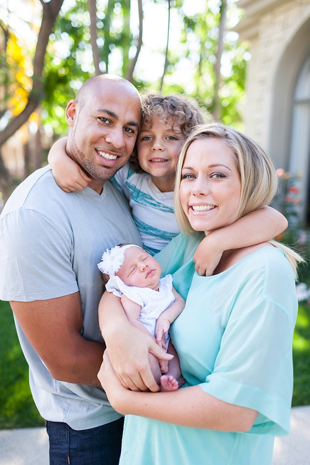 Kendra Wilkinson, Alijah Mary Baskett, Hank Baskett, Hank Jr