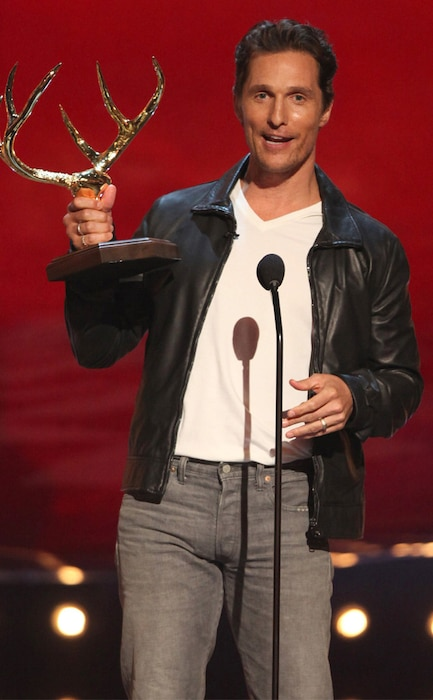 Matthew McConaughey, Guys Choice Awards