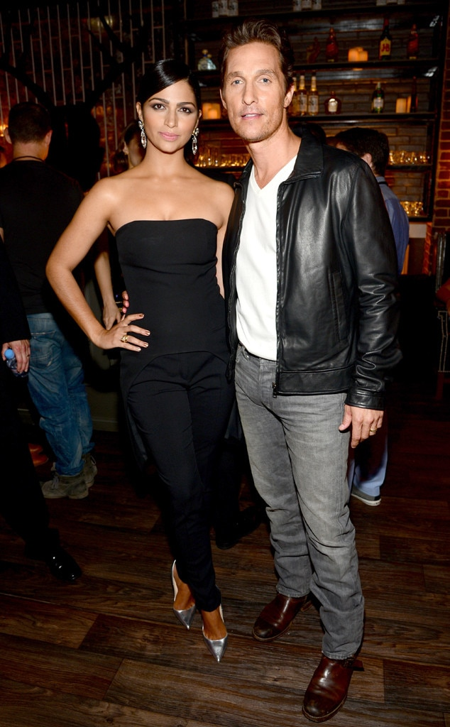 Matthew McConaughey, Camila Alves, Guys Choice Awards