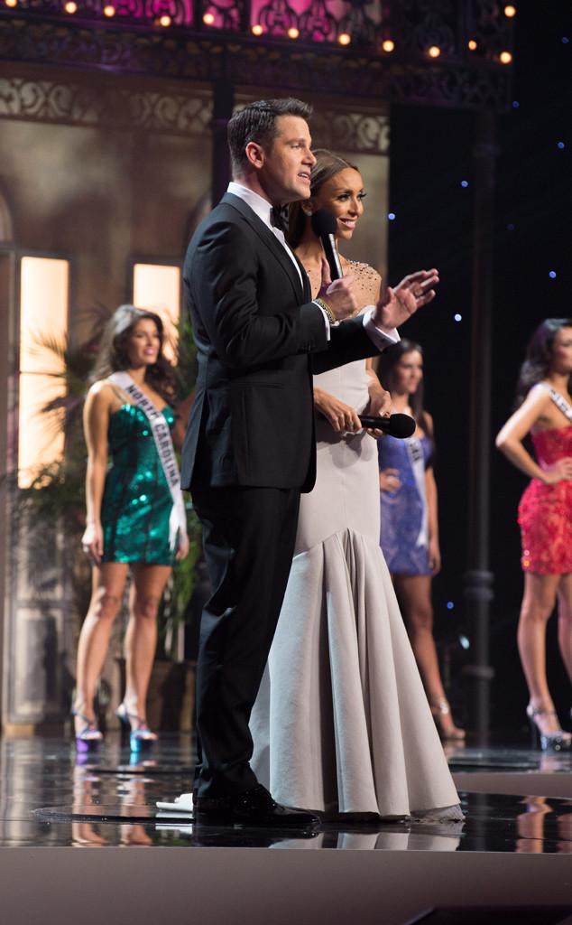 Thomas Roberts, Giuliana Rancic, Miss USA 2014