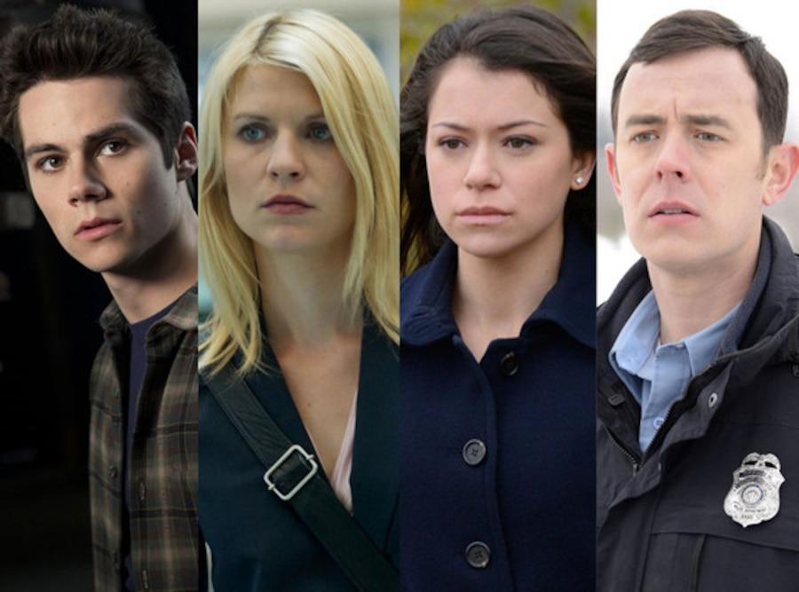Tatiana Maslany, Orphan Black, Colin Hanks, Fargo, Claire Danes, Homeland Dylan O'Brien, Teen Wolf