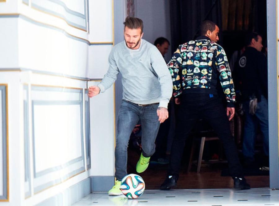 David Beckham, World Cup Commercial