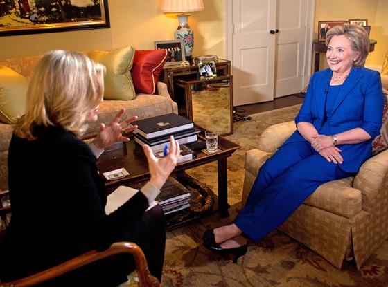Hillary Clinton, Diane Sawyer