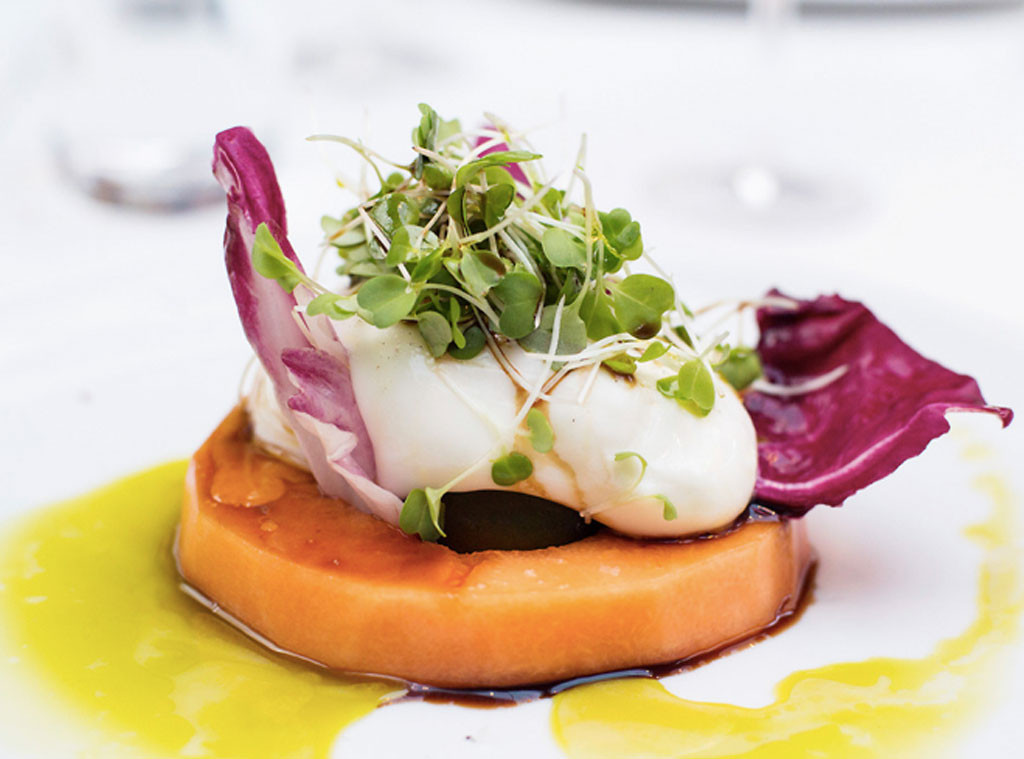 melon burrata summer salad at fig olive from famous chefs 39 signature dishes e news. Black Bedroom Furniture Sets. Home Design Ideas