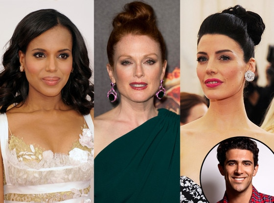 Kerry Washington, Julianne Moore, Jessica Pare, Marcus Francis