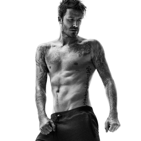 no shirt from david beckham models for h m e news