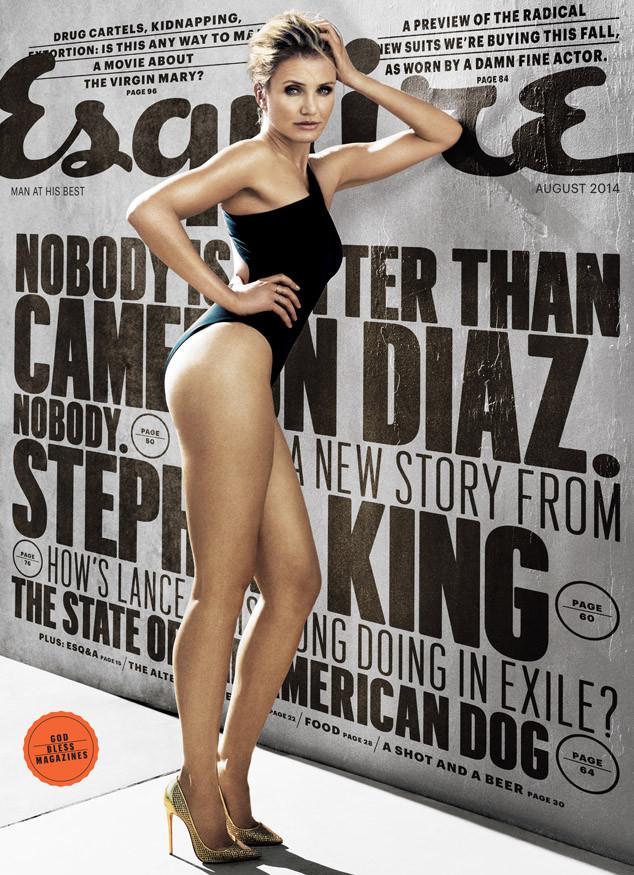 Cameron Diaz, Esquire, Best Ass Shots