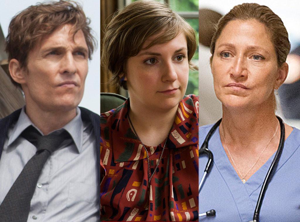 Matthew McConaughey, Lena Dunham, Edie Falco, 2014 Emmy Reactions