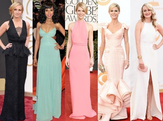 Emmy Noms Best Looks, Julia Roberts, Kerry Washington, Claire Danes, Julie Bowen, Taylor Schilling