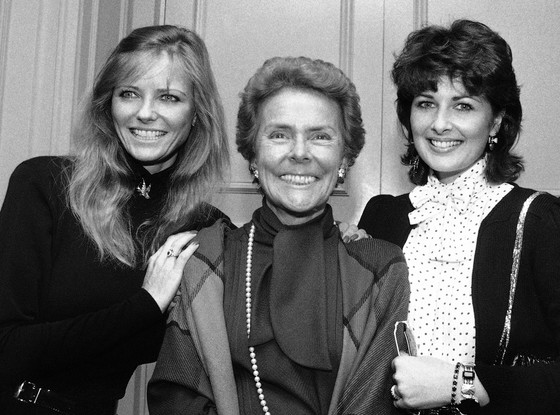 Eileen Ford, Cheryl Tiegs, Christina Ferrare