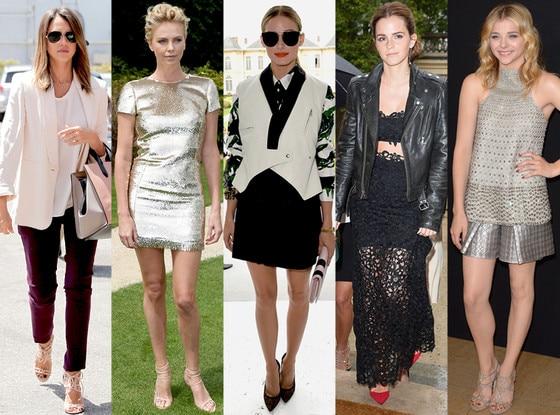 Emma Watson, Charlize Theron, Olivia Palermo, Chloe Grace Moretz, Jessica Alba