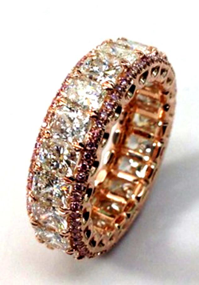 Katherine Webb, Engagement Ring
