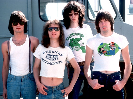 Dee Dee Ramone, Tommy Ramone, Joey Ramone and Johnny Ramone