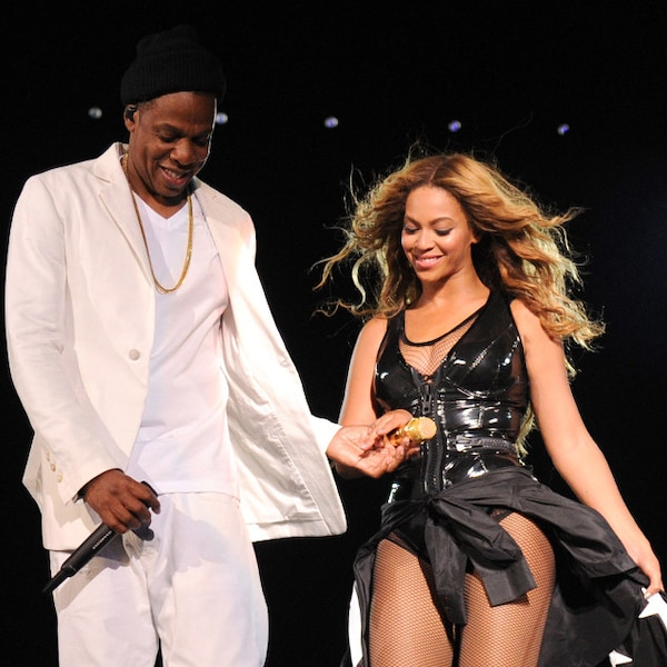 Coordinating Couple From Beyoncé & Jay Z's On The Run Tour