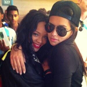 Rihanna, Adriana Lima