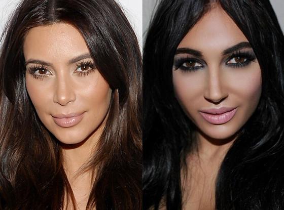 Kim Kardashian, Claire Leeson