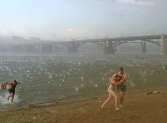 Hail, Serbia