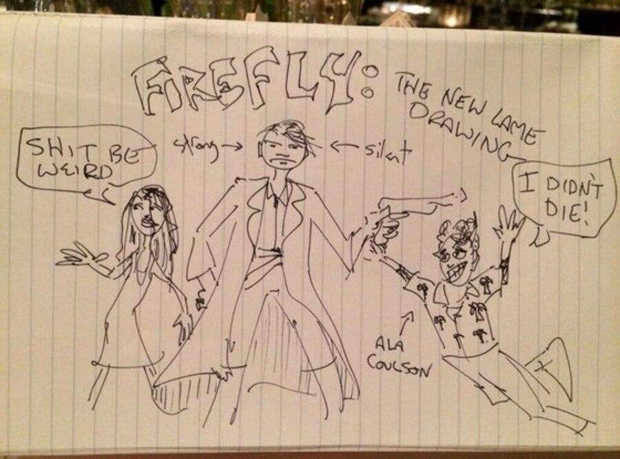 Firefly Cast, Joss Whedon Twitter