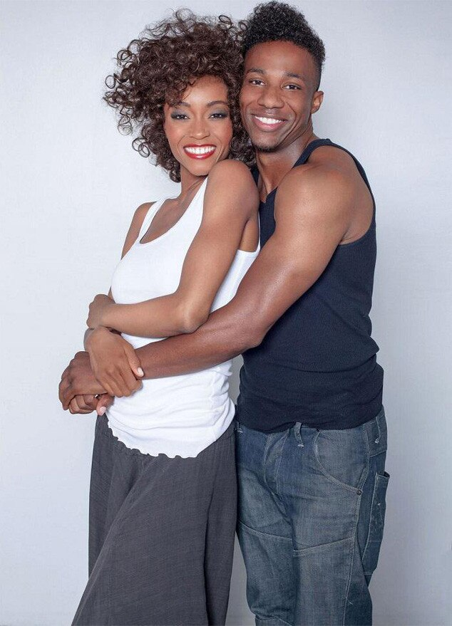 Yaya DaCosta, Arlen Escarpeta, Whitney Houston
