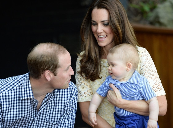 Prince William, Duke of Cambridge, Catherine, Duchess of Cambridge, Prince George, Kate Middleton