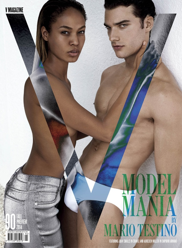 V Magazine, Joan Smalls, Sean O'Pry