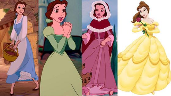 Belle, Disney Princesses Wardrobe