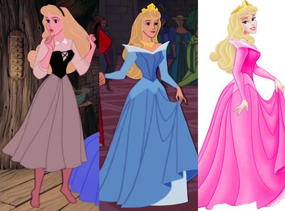 Aurora, Disney Princesses Wardrobe