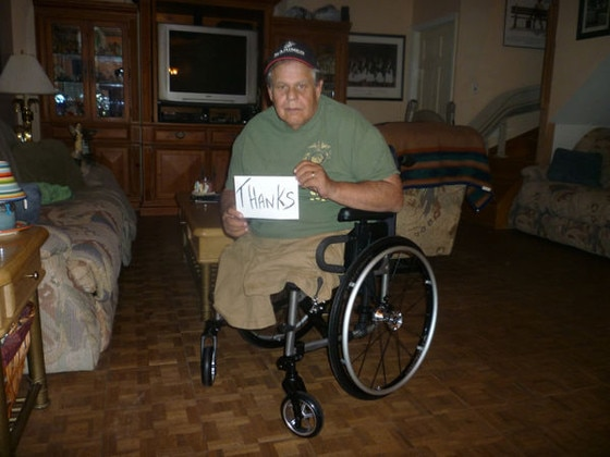 Michael Sulsona, Lowes, Wheelchair