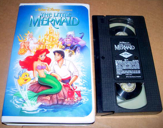 The Little Mermaid, VHS
