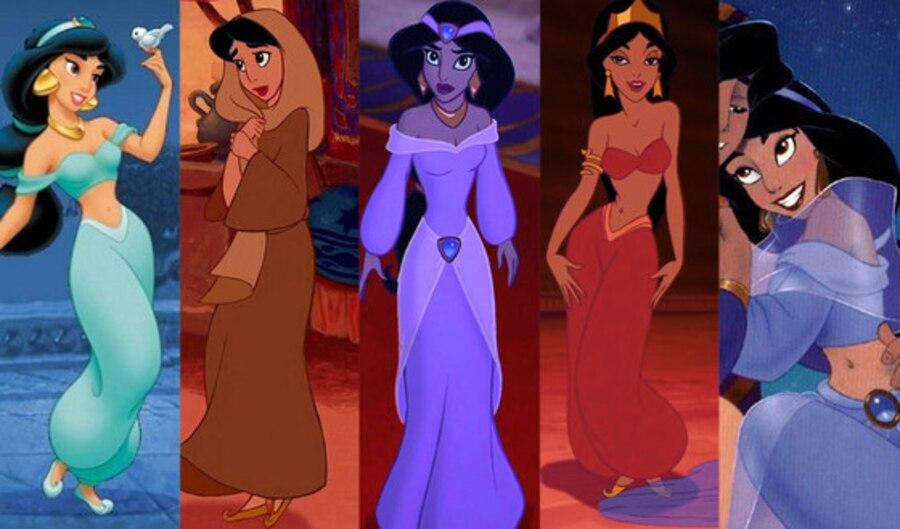 Jasmine, Aladdin, Disney Princesses Wardrobe