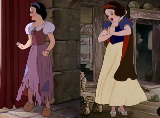 Snow White, Disney Princess Wardrobe