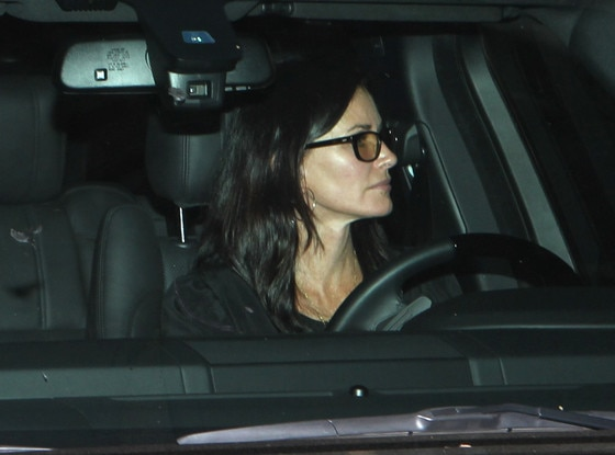 Jennifer Aniston, Courteney Cox, Lisa Kudrow Dinner