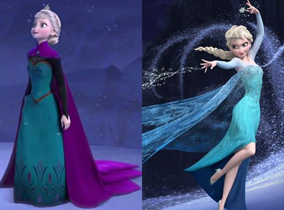 Elsa, Disney Princess Wardrobe