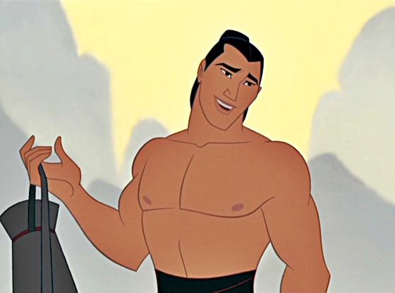 Captain Li Shang, Mulan
