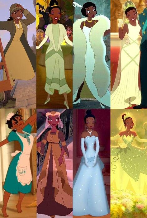 Tiana, The Princess and the Frog, Disney Princess Wardrobe