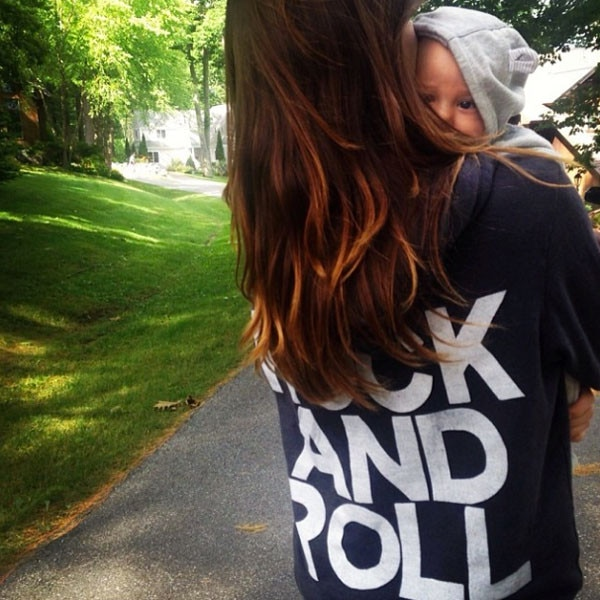 Olivia Wilde Shares Adorable Photo of Baby Son Otis—See ... Olivia Wilde Instagram