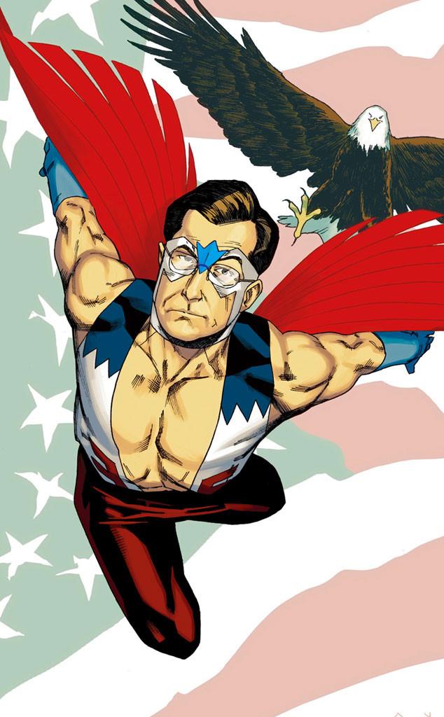 Stephen Colbert, Captain America