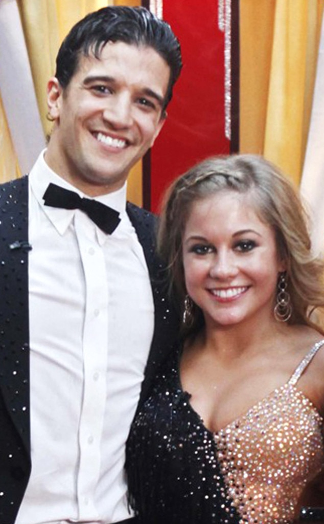 Shawn Johnson, Mark Ballas, Dancing with Stars