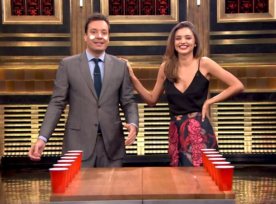 Miranda Kerr, Jimmy Fallon