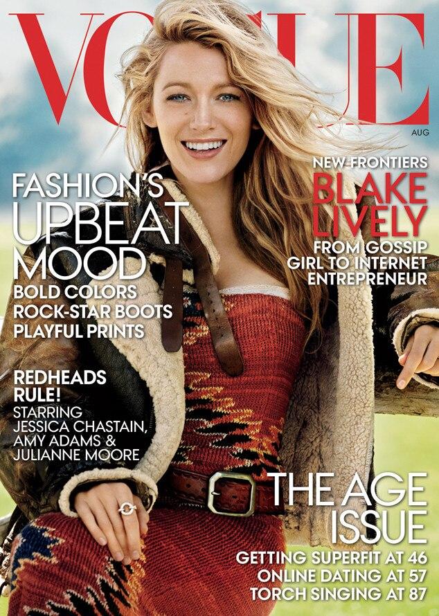 Blake Lively, Vogue