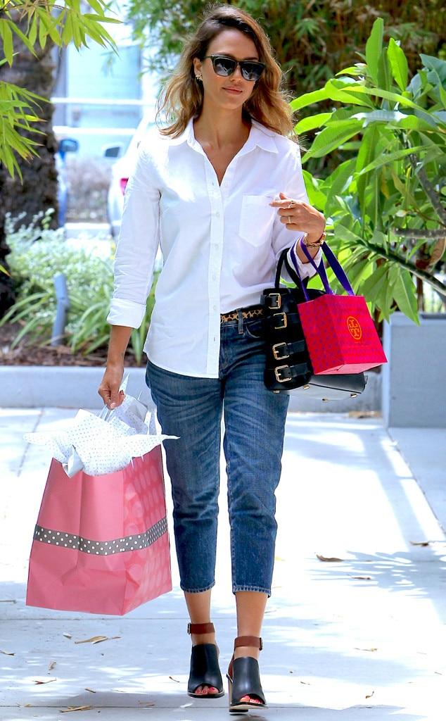Jessica Alba, Shopping