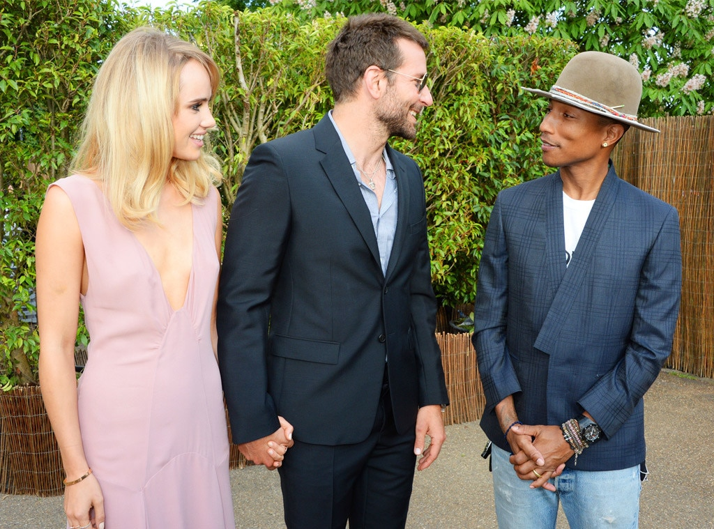 Suki Waterhouse, Bradley Cooper, Pharrell Williams