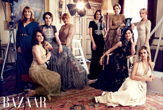 Downton Abbey, Harper's Bazaar