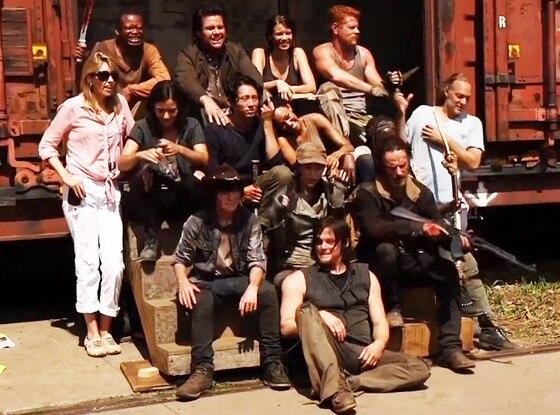 The Walking Dead, Cast