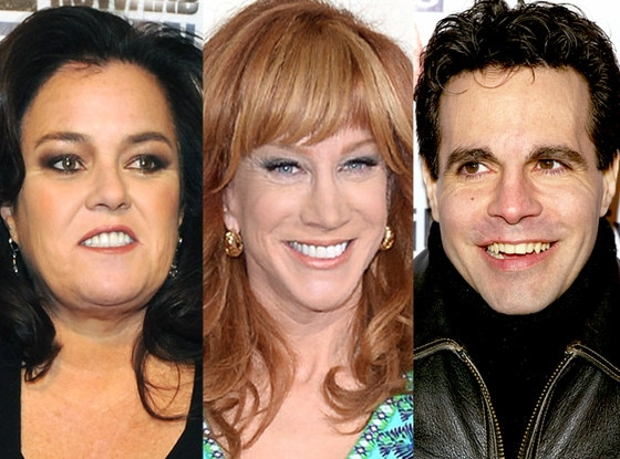 Rosie O'Donnell, Kathy Griffin, Mario Cantone,