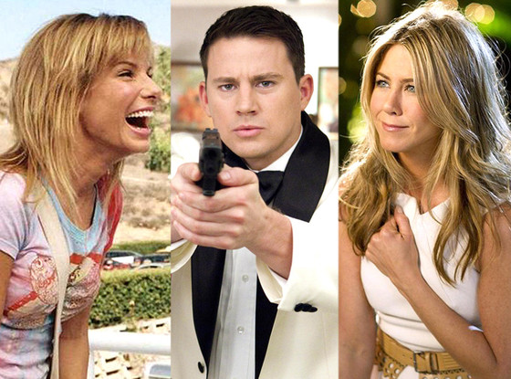 Jennifer Aniston, Sandra Bullock, Channing Tatum, Stars' hits and flops